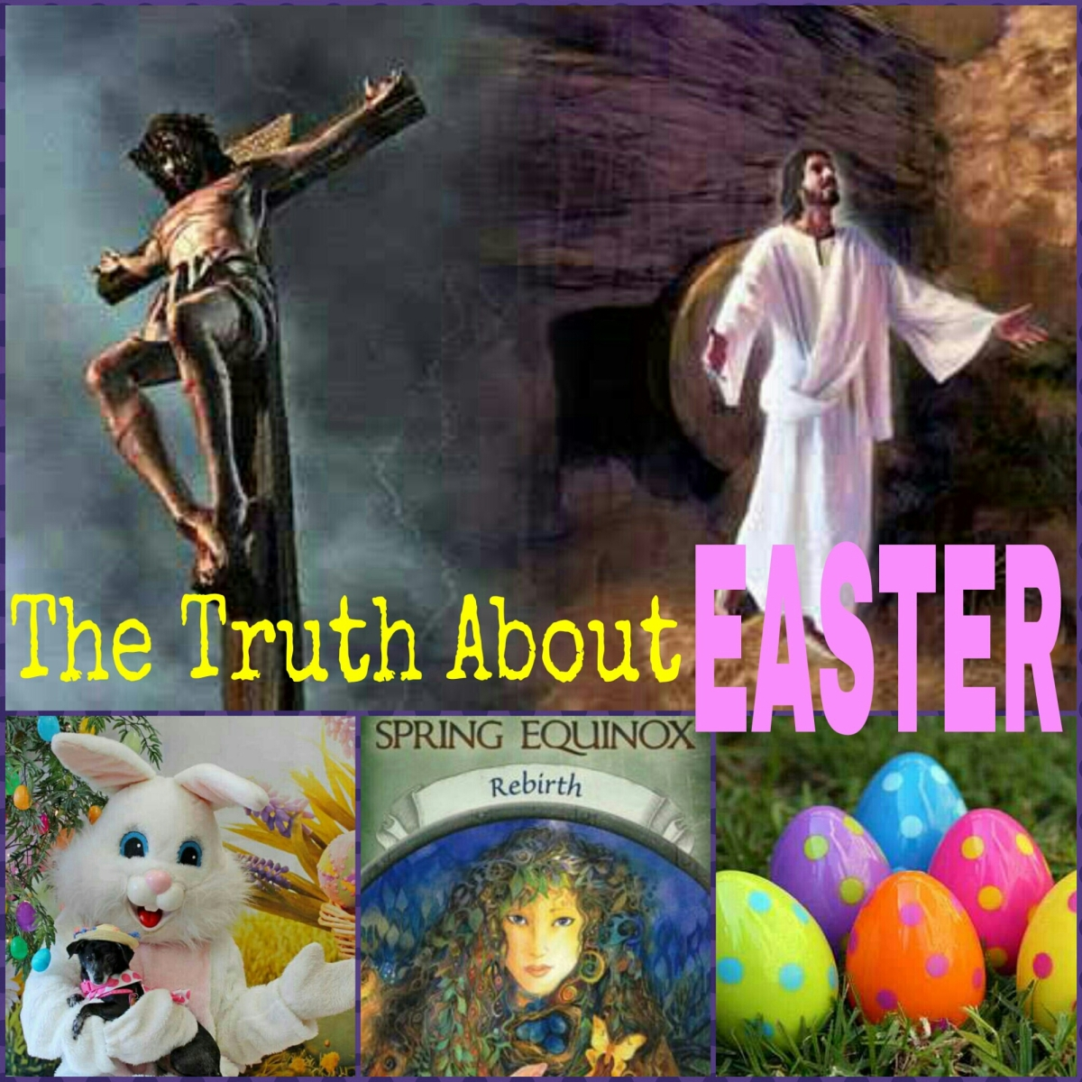 "It's All About JESUS: The Truth About ""Easter"""