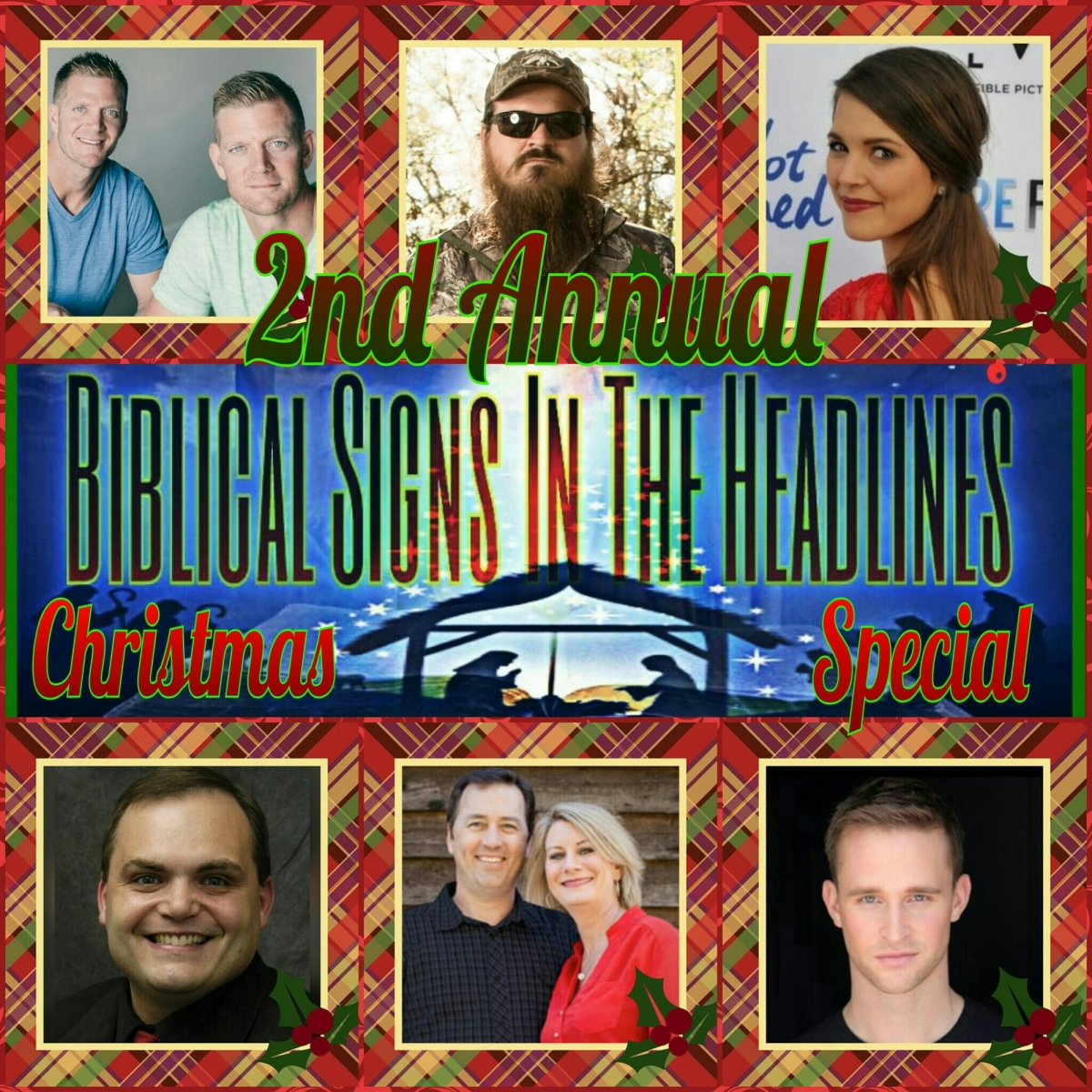 2nd Annual CHRISTMAS SPECIAL: Famous Christians Share Their Favorite Memories & Traditions
