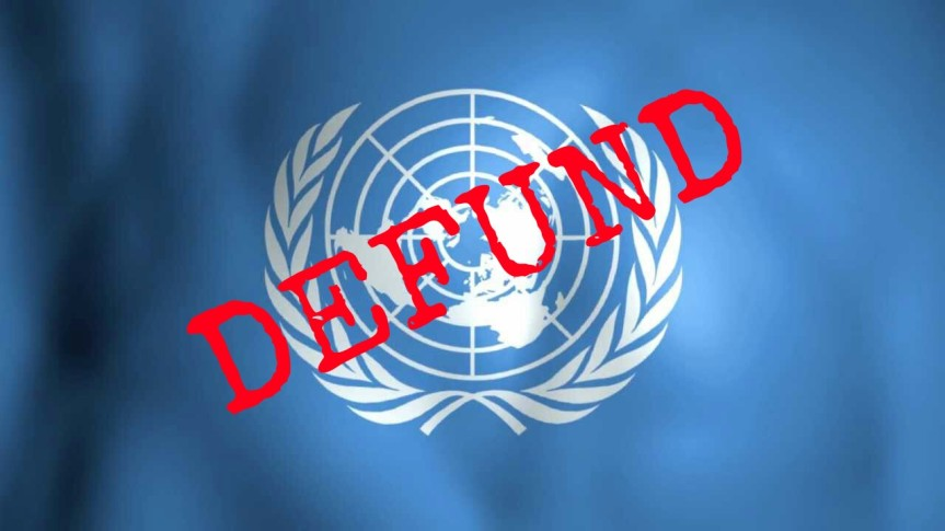 DEFUND THE UN: America Must Stop Financing United Nations' War On Israel