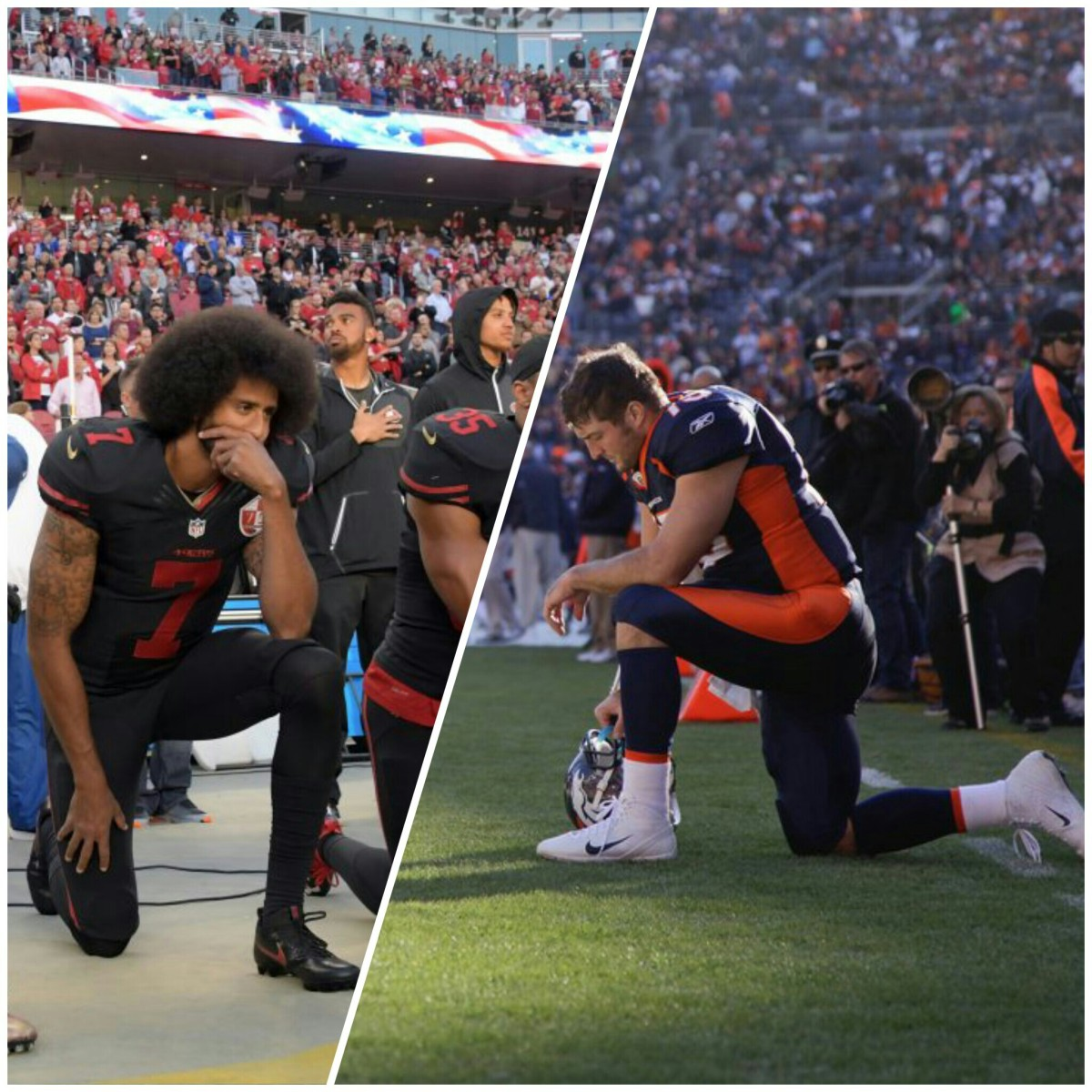 LIBERAL HYPOCRISY: Kneeling In Prayer Is Ridiculed, But Kneeling In Protest Is Revered