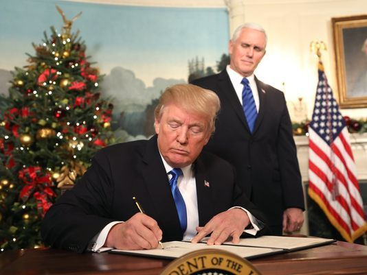 FINALLY!: Trump Keeps Promise To Move Embassy As He Recognizes Jerusalem As Israel'sCapital