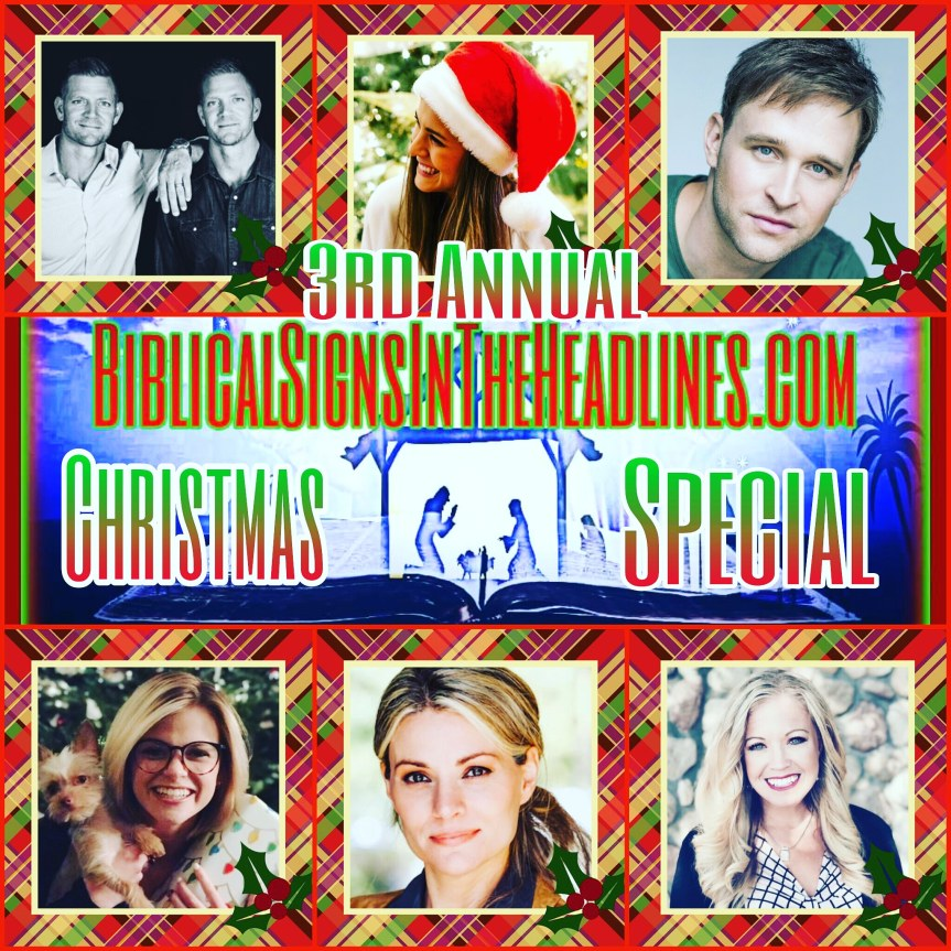 """3rd Annual CHRISTMAS SPECIAL: """"It's All About JESUS"""" (Famous Believers Open Up About Their Faith InChrist)"""