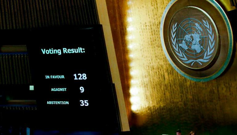 Nations Gathered Against JERUSALEM: Anti-Israel Vote At UN Fulfills Biblical Prophecy