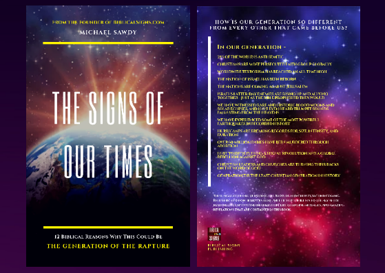 "NEW LOOK: Unveiling the New Cover of ""The Signs of Our Times"""